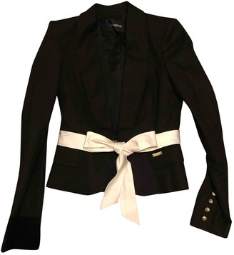 Flavio Castellani Black Cotton Jacket for Women