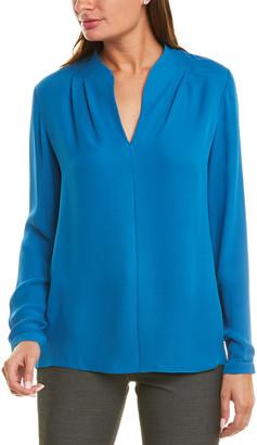 Elie Tahari Judith Silk Shirt