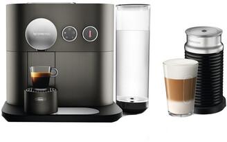 Nespresso Delonghi Expert Single-Serve Espresso Machine & Aeroccino Milk Frother