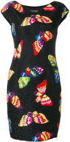 Moschino butterfly print dress - women - Cotton/Polyester/Other fibres - 40