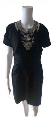 Matthew Williamson black Wool Dresses
