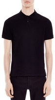 Sandro Knit Slim Fit Polo