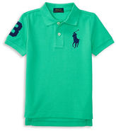 Ralph Lauren Boys 2-7 Toddler's, Little Boy's & Big Boy's Big Pony Solid Cotton Polo