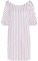 Isa Arfen Full Sleeve Mini Cotton Shirt Dress