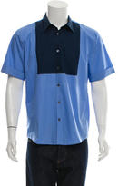 Acne Studios Colorblock Button-Up Shirt
