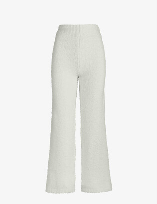 SKIMS Cozy boucle knitted trousers
