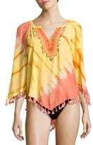 Hale Bob Fringed Cover-Up Tunic