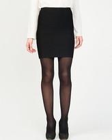 Le Château Banded Knit Mini Skirt