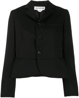 COMME DES GARÇONS GIRL Peplum Cropped Jacket