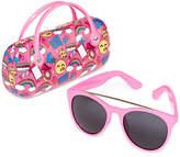 FANTASIA Full Frame Round Sunglasses-Girls