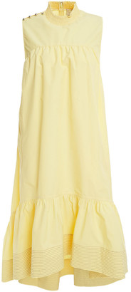 3.1 Phillip Lim Studded Cotton-blend Poplin Dress