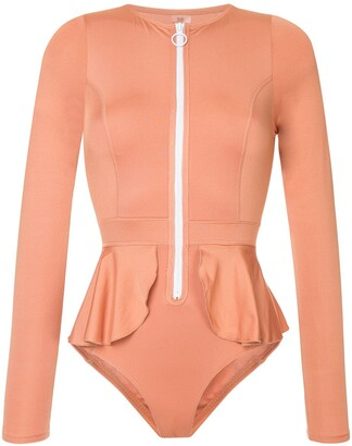 Duskii Elle long sleeve swimsuit