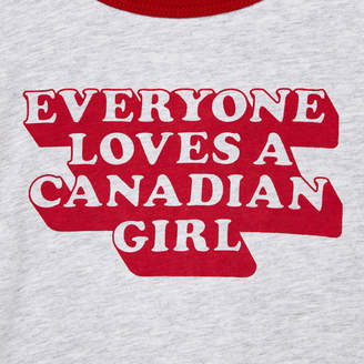 Roots Baby Canadian Girl T-shirt