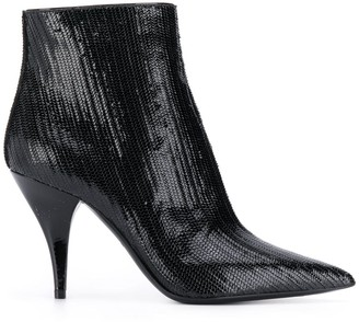 Casadei Delfina Fish Mooney boots