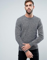 French Connection Melange Fleck Knitted Sweater