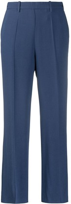 Forte Forte High-Waisted Straight Leg Trousers