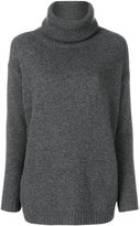Prada elbow patch roll neck sweater