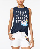 Disney Juniors' Alice In Wonderland Graphic Tank Top