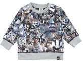 Molo Infant Boy's Animal Collage Graphic T-Shirt