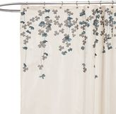 Bed Bath & Beyond Flower Drop Fabric Shower Curtain