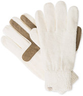 Isotoner Women's Solid Chenille Knit SmarTouch® Gloves