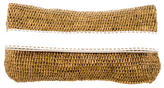 Michael Kors Raffia Fold-Over Clutch w/ Tags