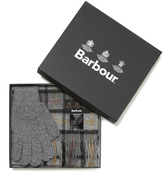 Barbour Scarf and Glove Set Modern