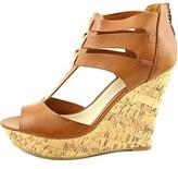 G by Guess Women's Dart T-strap Platform Wedge Sandals.