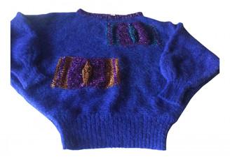 Non Signé / Unsigned Non Signe / Unsigned Kimono Multicolour Wool Knitwear