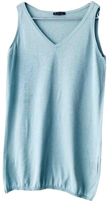 Loro Piana Blue Cotton Knitwear for Women
