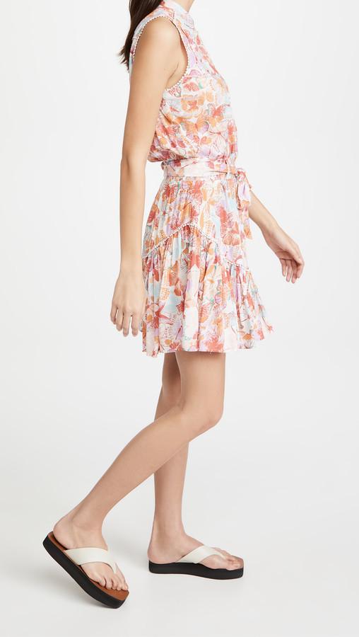 Thumbnail for your product : Poupette St Barth Mini Dress Felicia Sleeveless