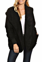T-Party Fashion Fuzzy Hooded Jacket
