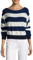 Free People Candyland Cotton Striped Sweater