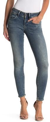 Lynn Mid Rise Skinny Jeans