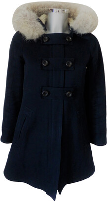 Marc by Marc Jacobs navy Cotton Coats
