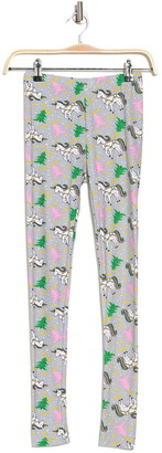 Secret Lace Unicorn Christmas Leggings