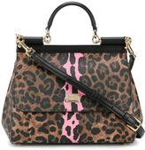 Dolce & Gabbana medium leopard print Sicily bag