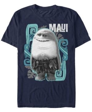 Disney Men's Moana Maui Shark, Short Sleeve T-Shirt