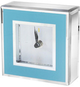 "Jay Import 7"" Blue Clock"
