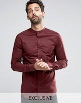 ONLY & SONS Skinny Smart Grandad Shirt