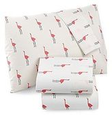 Martha Stewart Whim 100pct Cotton Sheet Set Pink Flamingos Twin