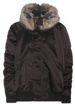 Yeezy Faux Fur-trimmed Bomber Jacket (season 1)