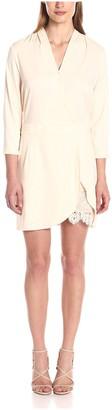 Aijek Women's Moonshine 3/4 Sleeve Mini Dress