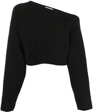 Societe Anonyme Asymmetric Cropped Jumper