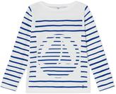 Petit Bateau Girls sailor shirt with placement design