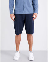 Sunspel Textured Cellulock Cotton-jersey Shorts