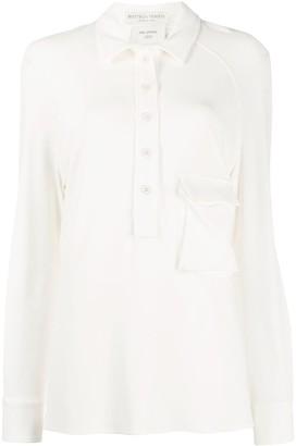 Bottega Veneta Flap Pocket Polo Shirt
