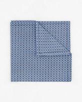 Le Château Novelty Print Cotton Blend Pocket Square