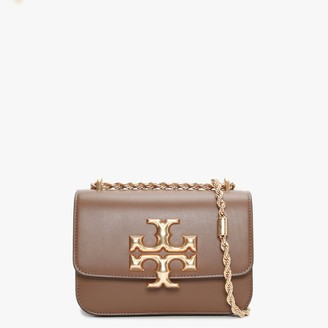 Tory Burch Small Eleanor Convertible Moose Leather Shoulder Bag