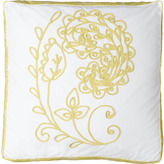"18""Sq. Embroidered Box Pillow"
